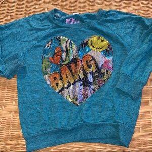 4T Milly & Tate Girls sweatshirt